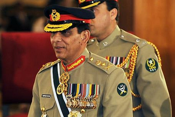 Pakistan Army chief General Ashfaq Parvez Kayani