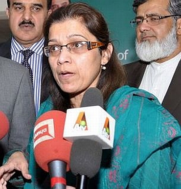 Pakistan's newly-appointed Defence Secretary Nargis Sethi
