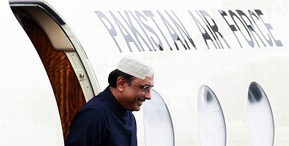 Zardari left Pakistan on a private visit to Dubai
