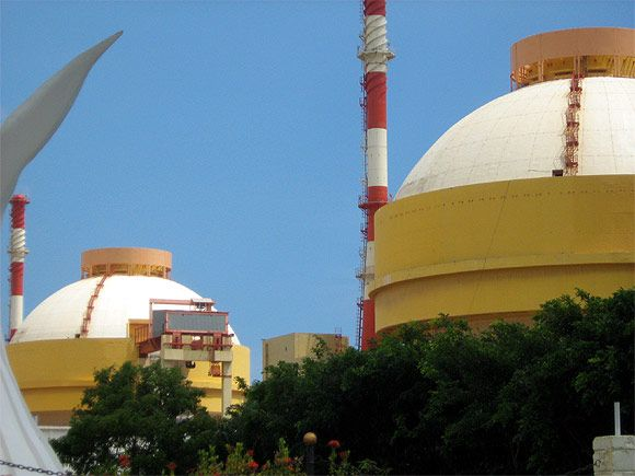 The Koodankulam Nuclear Power Plant has been barricaded by multitudes of armed security personnel