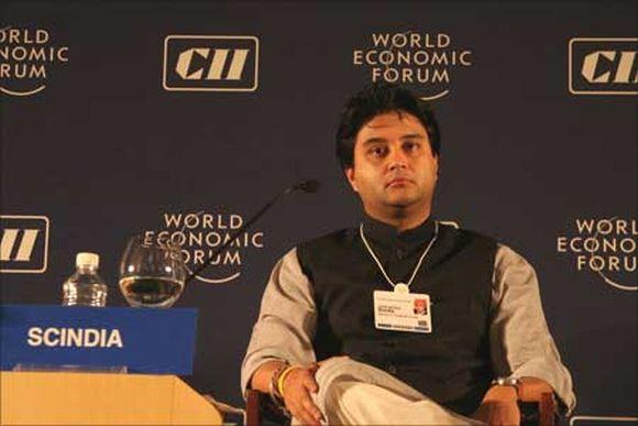 Union Minister Jyotiraditya Scindia