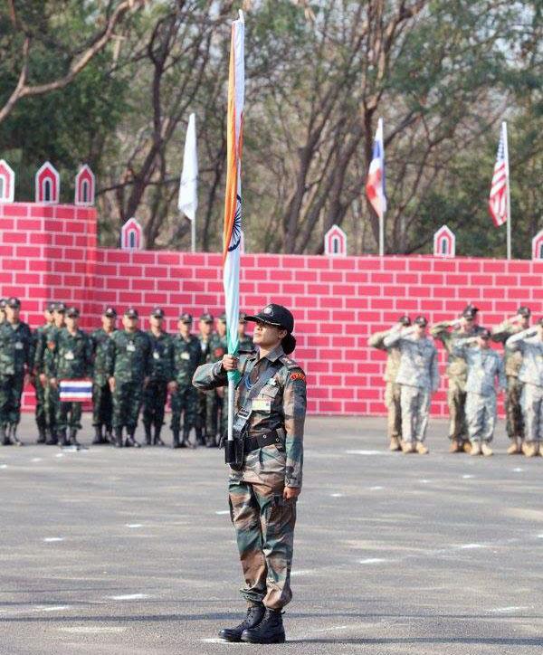 Lt Col Sofiya Qureshi