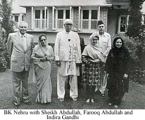 farooq abdullah and nehru relationship