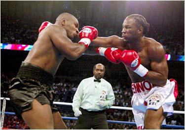 Rediff Com Sports Channel Mike Tyson Vs Lennox Lewis