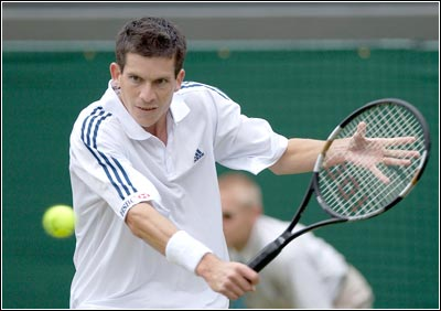 Rediff Sports - Cricket, Indian hockey, Tennis, Football, Chess, Golf - Henman wants to see serve and volley in modern tennis