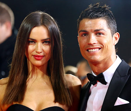 Rediff Sports - Cricket, Indian hockey, Tennis, Football, Chess, Golf - Cristiano Ronaldo denies cheating on his girlfriend Irina