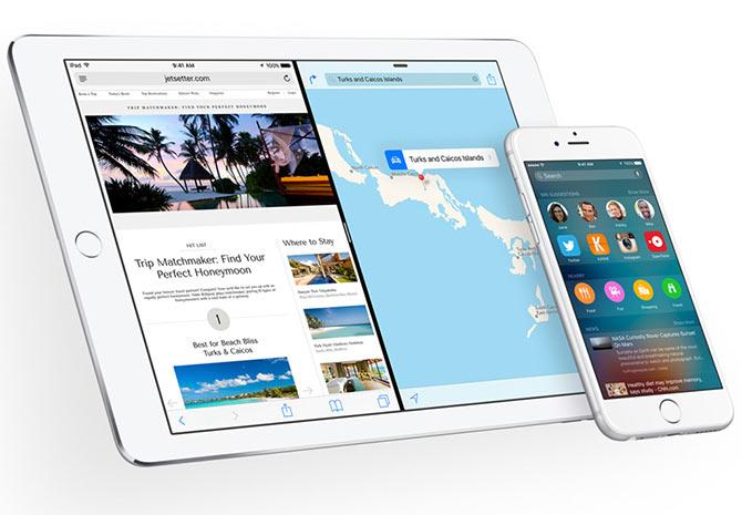 Apple iOS 9 gets bolder!