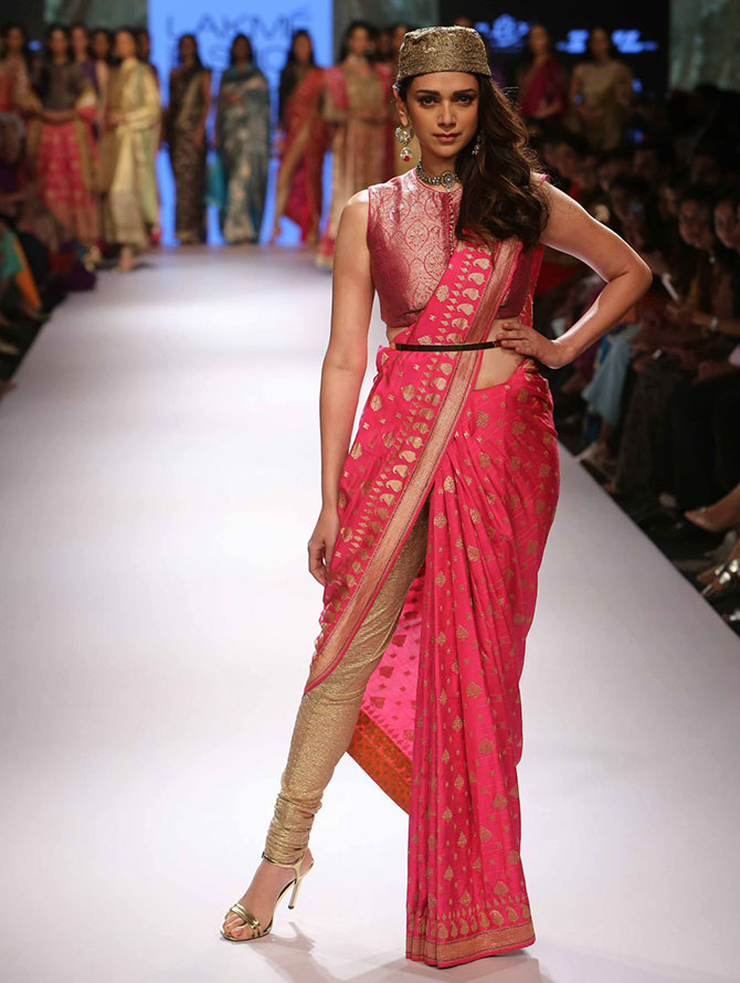 Aditi Rao Hydari in a Ritu Kumar creation