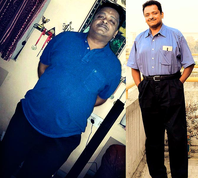 Subash went from 117 kg to 88 kg in 6 months