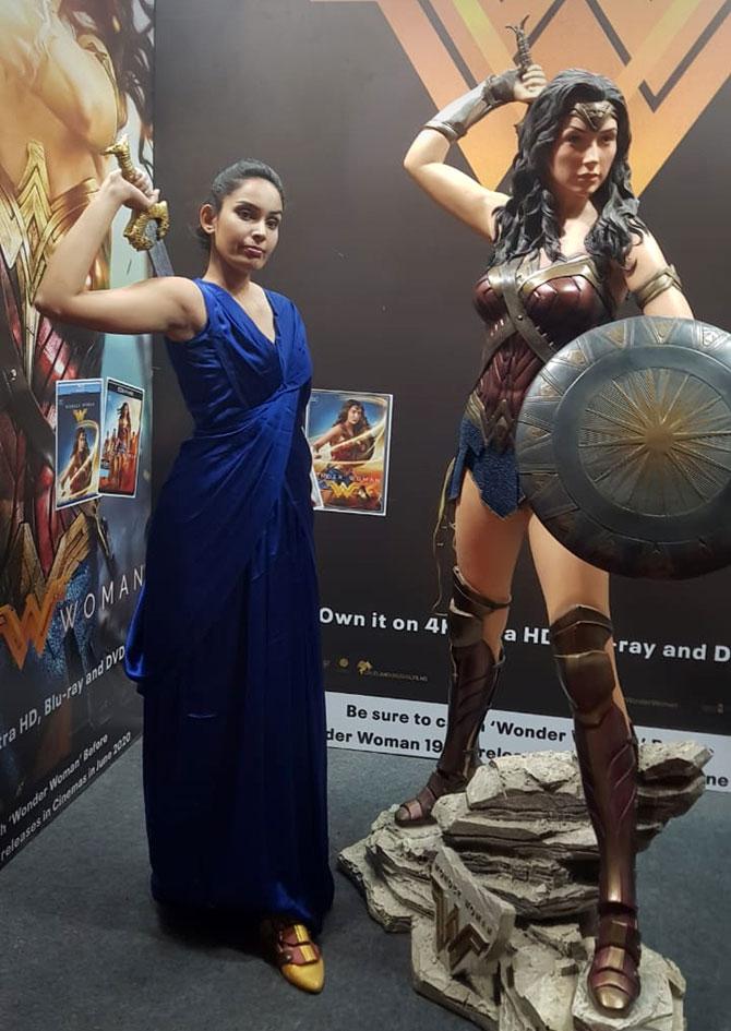 Trisha at Comic Con