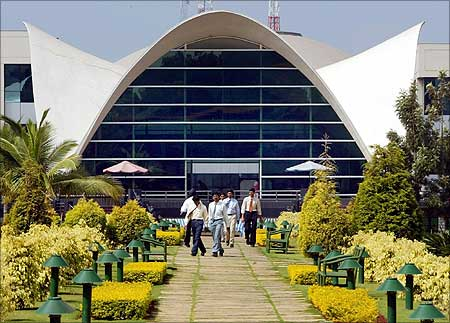 Infosys campus in Bengaluru.