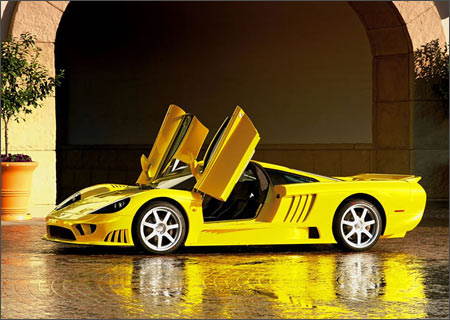 A Saleen S7 Twin-Turbo