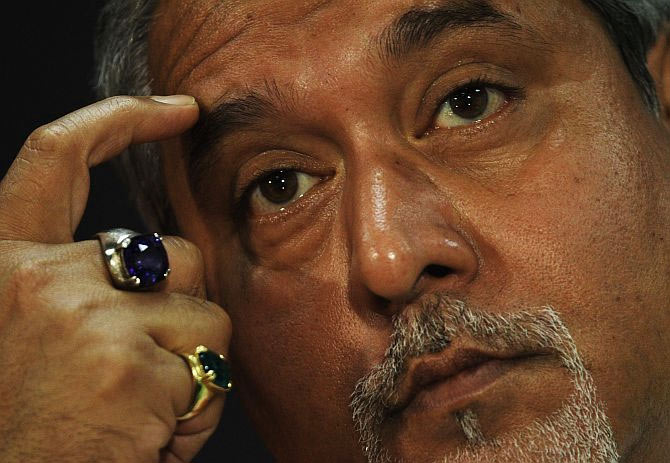 Who is the key man of Mallya empire abroad?