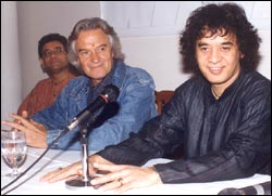 Taufiq Qureshi, John McLaughlin and Zakir Hussain