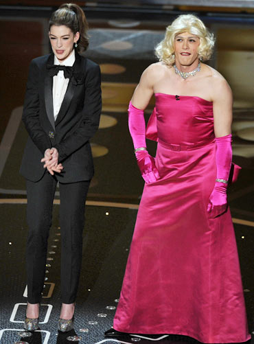Do James Franco, Anne Hathaway get your Oscar vote?