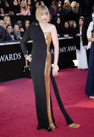 Oscar Fashion: Do these girls look hot or not? - Rediff
