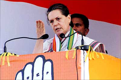 BJP has nothing new to offer, stealing our ideas: Sonia