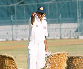 Azharuddin goes back in time to 1993 Hero Cup semi-final...